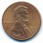 США, 1 цент (2005 г.)