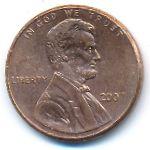 США, 1 цент (2007 г.)