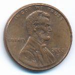 США, 1 цент (2008 г.)
