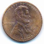США, 1 цент (2011 г.)