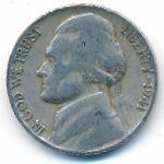 США, 5 центов (1941 г.)