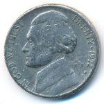 США, 5 центов (1972 г.)
