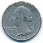 США, 1/4 доллара (1983 г.)