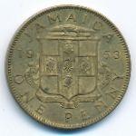 Ямайка, 1 пенни (1953 г.)