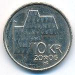 Норвегия, 10 крон (2006 г.)