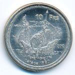 Бассас-да-Индия, 10 франков (2012 г.)