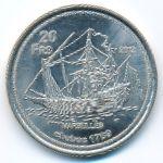 Бассас-да-Индия, 20 франков (2012 г.)