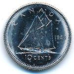 Канада, 10 центов (1984 г.)
