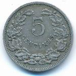 Люксембург, 5 сентим (1908 г.)