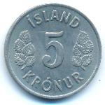 Исландия, 5 крон (1970 г.)