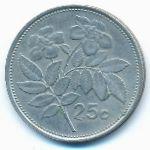 Мальта, 25 центов (1986 г.)