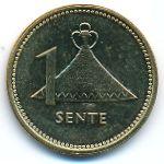 Лесото, 1 сенте (1992 г.)