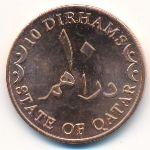 Катар, 10 дирхамов (2012 г.)