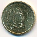 Сан-Марино, 50 евроцентов (2018 г.)