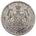 Румыния, 5 леев (1881 г.)
