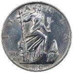 Италия, 10 лир (1936 г.)
