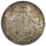 Венгрия, 1 форинт (1868 г.)