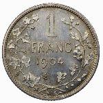 Бельгия, 1 франк (1904 г.)