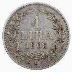 Сан-Марино, 1 лира (1906 г.)