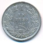 Чили, 1 песо (1927 г.)