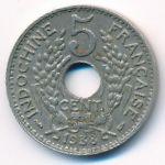 Французский Индокитай, 5 центов (1938 г.)