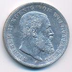 Вюртемберг, 3 марки (1910 г.)