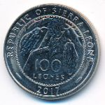 Сьерра-Леоне, 100 леоне (2017 г.)