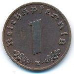 Третий Рейх, 1 рейхспфенниг (1938 г.)