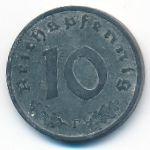 Третий Рейх, 10 рейхспфеннигов (1940 г.)