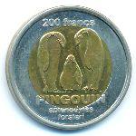 Острова Кергелен, 200 франков (2011 г.)