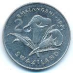 Свазиленд, 2 эмалангени (1981 г.)