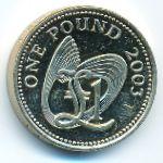 Гернси, 1 фунт (2003 г.)