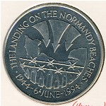 Saint Helena Island and Ascension, 50 pence, 1994