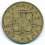 Ямайка, 1 пенни (1940 г.)