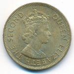 Ямайка, 1 пенни (1964 г.)