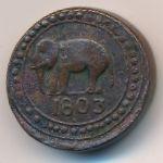 Цейлон, 1/24 риксдоллара (1803 г.)