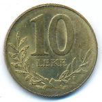 Албания, 10 лек (2009 г.)