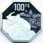 Вальтице, 100 франков (2021 г.)