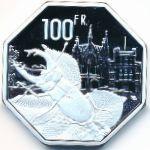 Леднице, 100 франков (2021 г.)