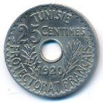 Тунис, 25 сентим (1920 г.)