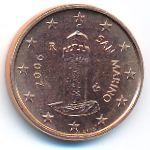 Сан-Марино, 1 евроцент (2006 г.)