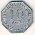 Перпиньян., 10 сентим (1917 г.)