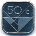 Аруба, 50 центов (1995 г.)