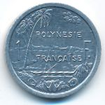 Французская Полинезия, 1 франк (1999 г.)