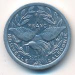 Новая Каледония, 1 франк (1999 г.)
