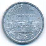 Французская Полинезия, 1 франк (1975 г.)