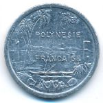 Французская Полинезия, 1 франк (2003 г.)