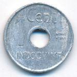Французский Индокитай, 1 цент (1943 г.)