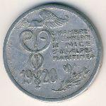 Ницца., 10 сентим (1920 г.)