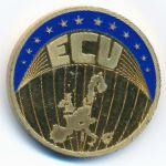 Европа, 1 экю (2001 г.)